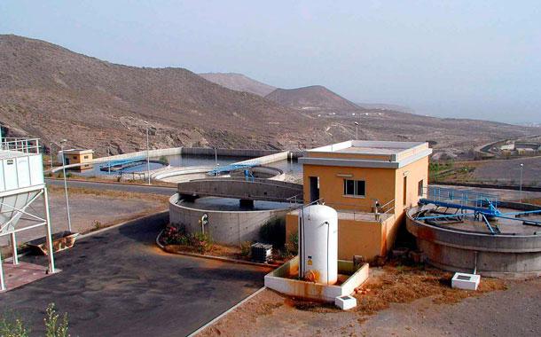 Estación depuradora de Adeje-Arona