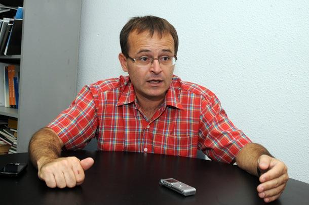 RAMÓN TRUJILLO, COORDINADOR DE IZQUIERDA UNIDA EN CANARIAS JG