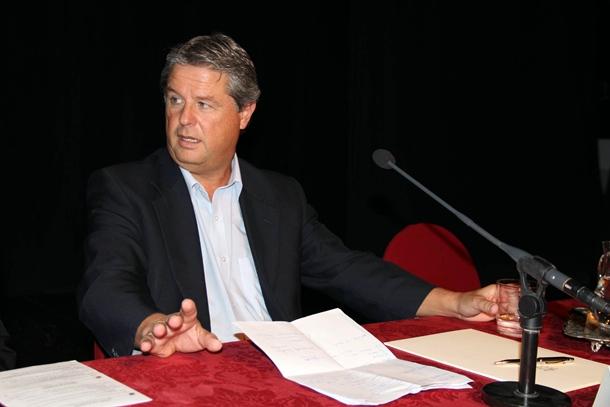El decano de Menores de la Fiscalía Provincial Manuel Leonardo Campos