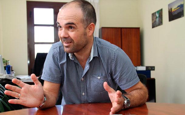 Epifanio Díaz, concejal de Hacienda, Recursos Humanos y Centrales de Adeje