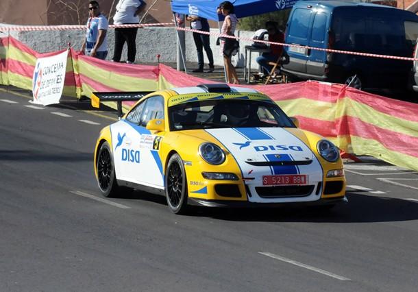 Enrique Cruz Porsche subida a Tamaimo jg