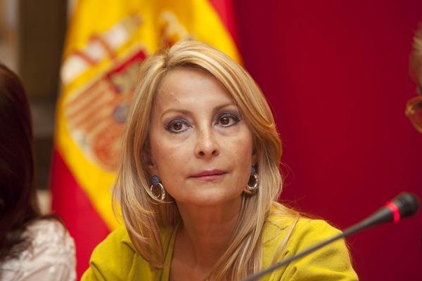 La portavoz parlamentaria del PP, María Australia Navarro