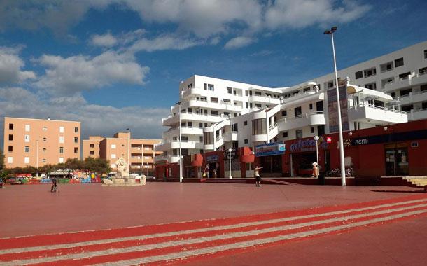 Plaza Roja de El Médano