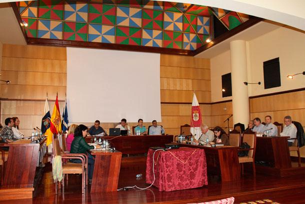 Pleno del Ayuntamiento de Candelaria