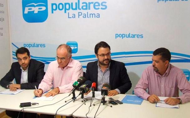 Asier Antona, Antonio Rocha, Carlos Cabrera Matos y Juan José Cabrera