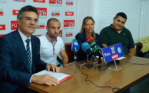 Presentación del proyecto Futbol para todos