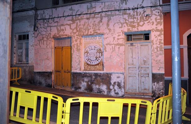 derrumbe techo vivienda los lavaderos SM