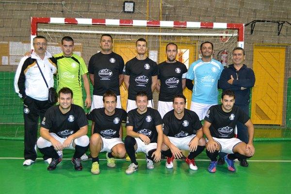 Equipo del CFS Chigueste de la presente temporada 2012-2013. / da
