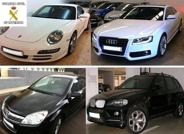 vehículos intervenidos (estafa noviembre 2012)