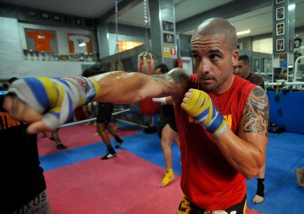 Zeben Díaz prepara a conciencia su participación en el K1 Max de Atenas