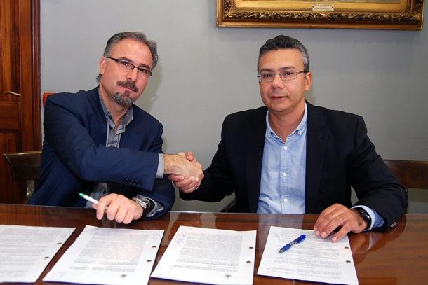 ALBERTO MEDINA Y DÁMASO ARTEAGA CONVENIO MARTINEZ CANO