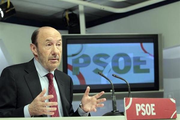 Alfredo Perez Rubalcaba PSOE