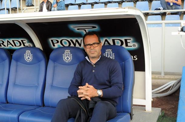 Alvaro Cervera entrenador CD Tenerife jg
