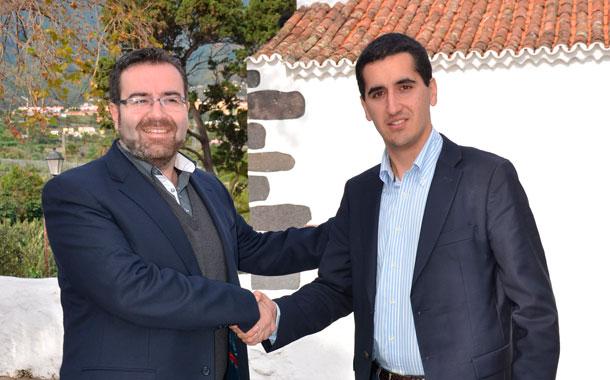 Ángel Alonso y Borja Pérez, alcaldes de Las Breñas