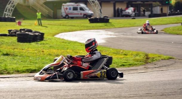 Borja Álvarez karting