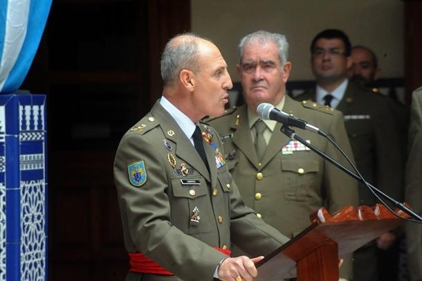 Toma de posesión del jefe del estado mayor del Mando de Canarias, Santiago Camarero Alenda JG