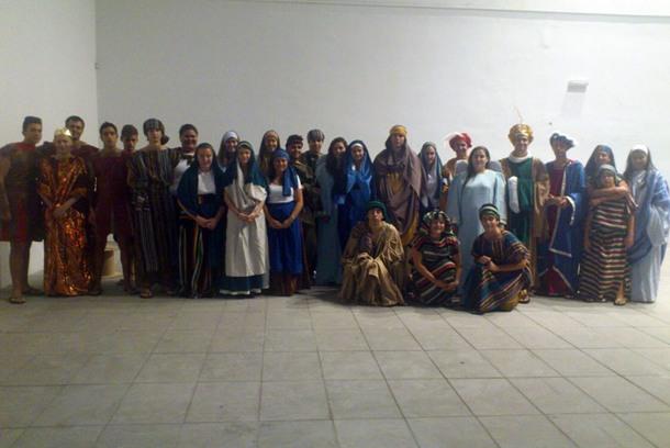 Participantes Belen Viviente La Gomera