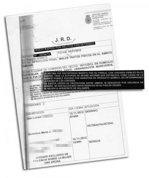 En la documentación se omiten apellidos por deseo expreso de la familia y los datos de los testigos. / DA