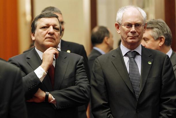 José Manuel Durao Barroso y Herman van Rompuy