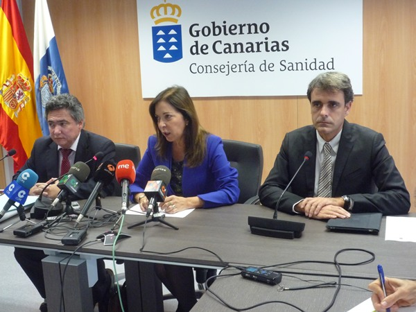 La consejera regional de Sanidad Brigida Mendoza