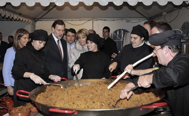 Mariano Rajoy, Ana Mato, Ignacio Gonzalez y Esperanza Aguirre