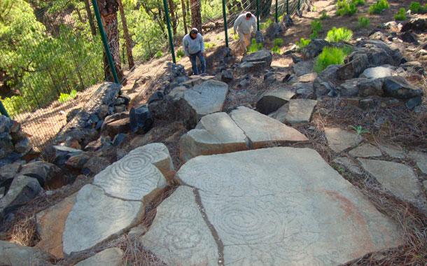 Grabados rupestres de Tamarahoya