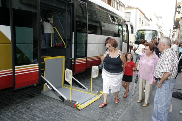 guagua discapacitados Transportes Insular de La Palma