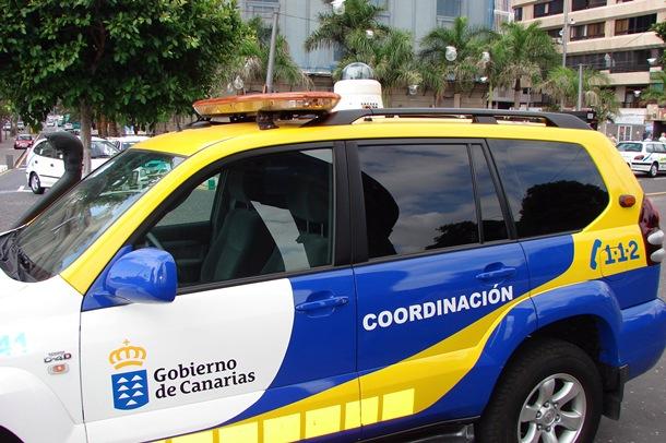 Vehículo de coordinación del CECOES