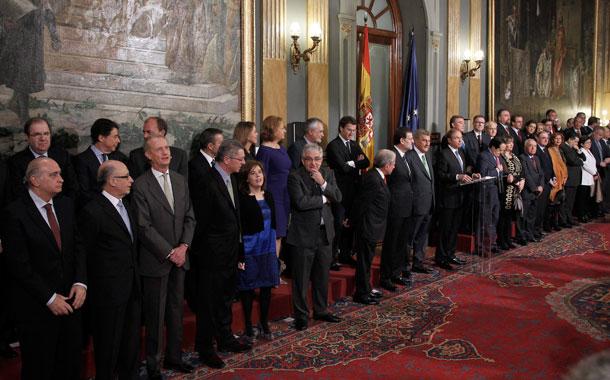Acto central Día de la Constitución 2012