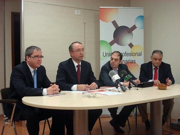 Unión de Profesionales de Canarias UPCAN y Asociación de Trabajadores Autónomos ATA