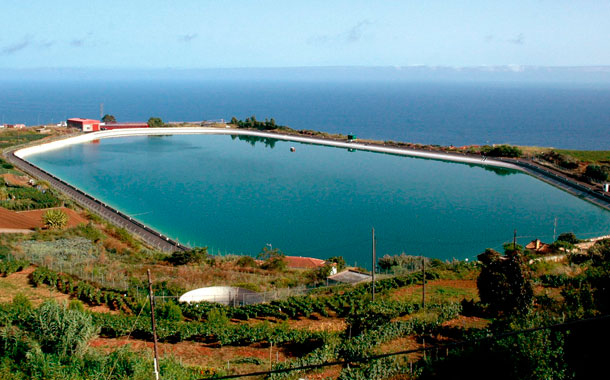 Balsa de agua de la Cruz Santa, Tenerife