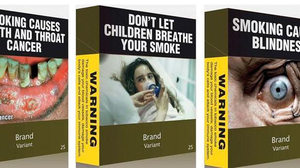Cajetillas genéricas de tabaco - Australia
