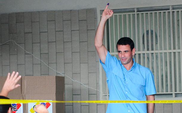 Henrique Capriles Radonski - Elecciones regionales