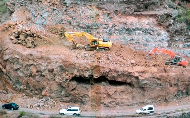 Carretera norte La Palma