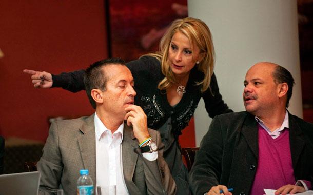 Navarro (PP), Ruano y Barragán (CC)