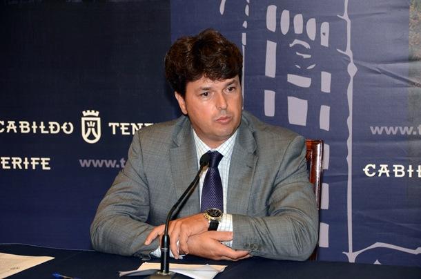 el consejero de Innovación Antonio García Marichal