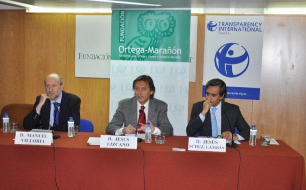 Presentación del Índice de Transparencia de las Comunidades Autónomas