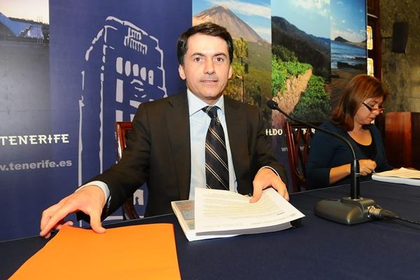consejero insular de Agricultura, José Joaquín Bethencourt