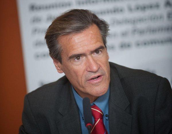 El eurodiputado socialista Juan Fernando López Aguilar. | FRAN PALLERO