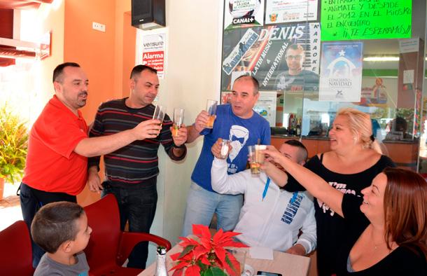 Lotería Navidad 2012 - Tercer premio en La Perdoma