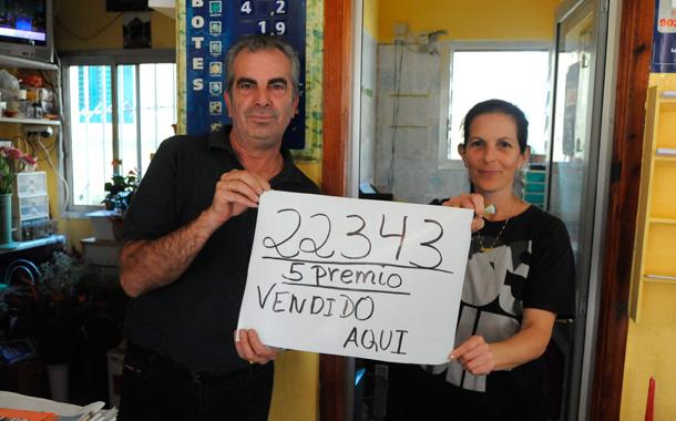 Lotería Navidad 2012 - Quinto premio en Punta del Hidalgo