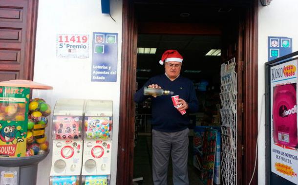 Lotería Navidad 2012 - Quinto premio en Icod