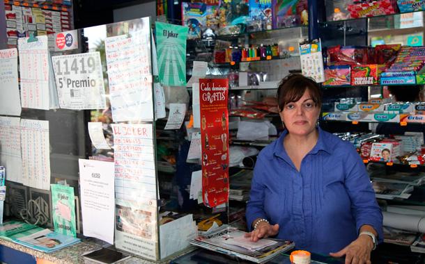 Lotería Navidad 2012 - Quinto premio en La Palma