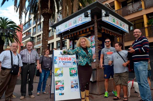 Lotería Navidad 2012 - El Gordo en Puerto de la Cruz