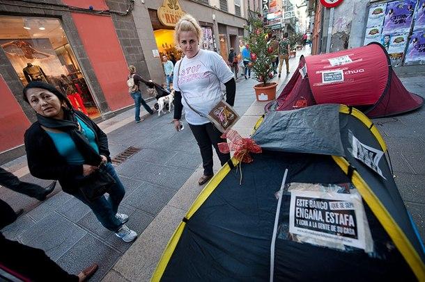 acampados desahucios bankia fp