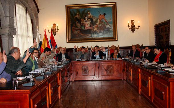Pleno Santa Cruz de La Palma