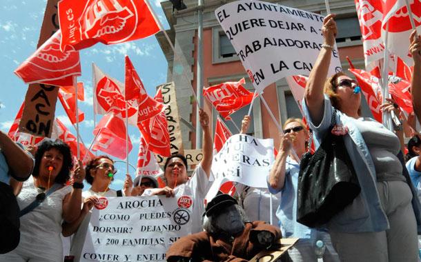 Protesta Mararía