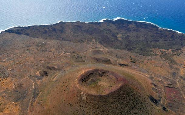 Volcán y malpaís de Güímar