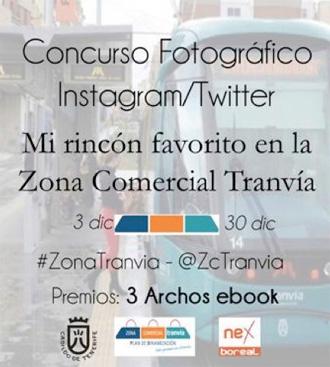 Concurso fotos Instagram/Twitter Zona Comercial Tranvía