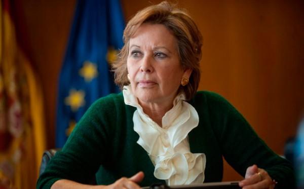 Francisca Luengo consejera de Empleo del Gobierno canario